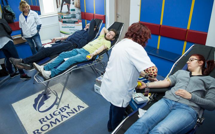 Vineri, 16 iunie, la Federatia Romana de Rugby are loc a doua campanie de donare de sange din 2017