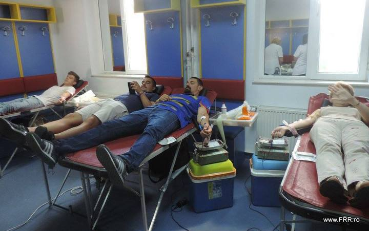 Miercuri, 20 septembrie, la Federatia Romana de Rugby are loc a treia campanie de donare de sange din 2017