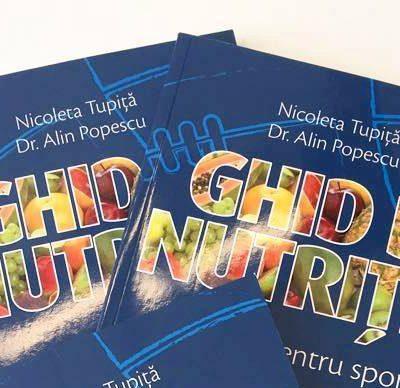 A apărut primul ghid practic de nutriție pentru sportivi! Cumpără-l online!