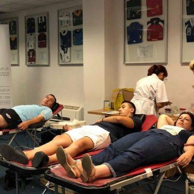 51 de donatori acceptati la a doua donare de sange din 2018 organizata de catre Federatia Romana de Rugby