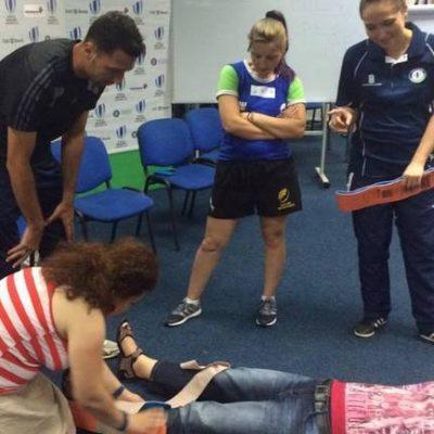 La Constanta, va avea loc pe 28 octombrie un curs de prim ajutor Level 1 World Rugby