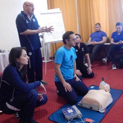 La Bucuresti, va avea loc pe 16 decembrie, un curs de prim ajutor Level 1 World Rugby