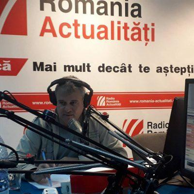 Invitat @ Serviciul de Noapte cu Alexandru Rusu – Radio România Actualităţi