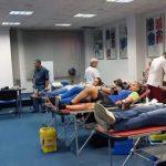 Locație nouă pentru campania de donare de sânge organizată de Federația Română de Rugby