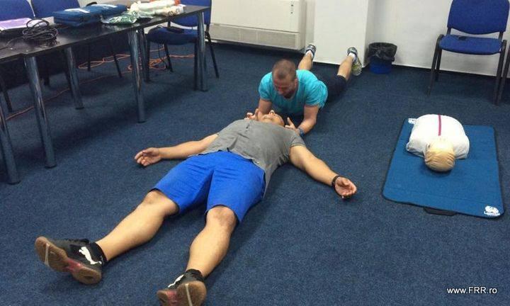 Un nou curs de prim ajutor organizat pe data de 25 iulie de Federația Română de Rugby