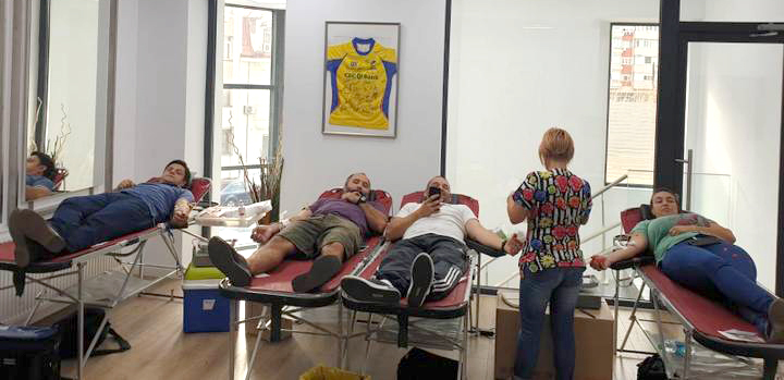 Vineri, 13 decembrie, la sediul Kineto Medical Health, are loc cea de-a patra campanie de donare de sange organizata in acest an de FRR