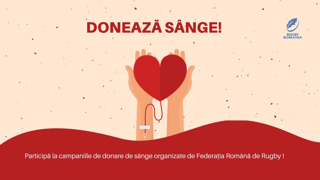 Pe 24 septembrie și 10 decembrie donează sânge!